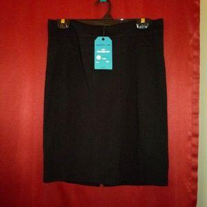 CAbi black pencil skirt (NWT)